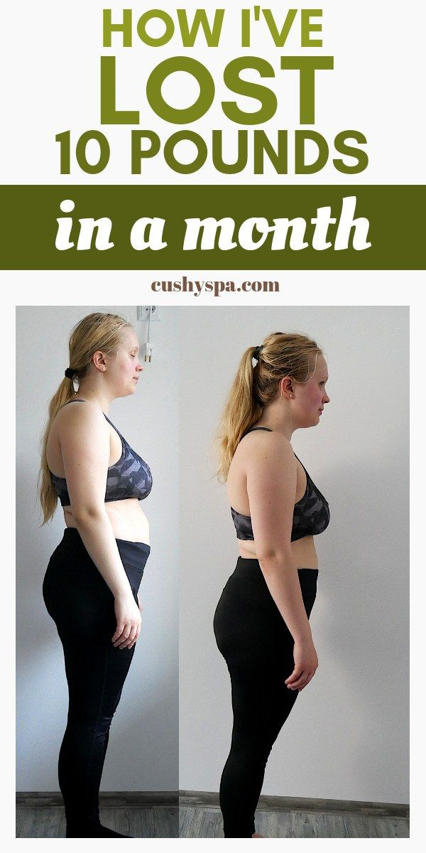 healthy month weight loss