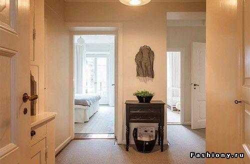 Большие шведские квартиры. Корзина для газет и журналов