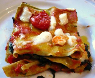 """Lasagna with Italian Tomato """"Carla"""""""