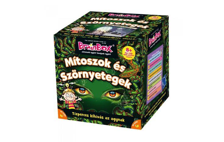 Brainbox Mítoszok és Szörnyetegek, egyedüli- vagy társasjáték 8 éves kortól - Brainbox