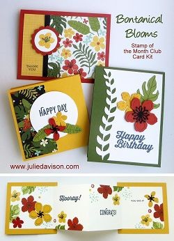 Julie's Stamping Spot -- Stampin' Up! Project Ideas by Julie Davison: Stampin' Up! International Blog Hop: Honeycomb Happiness Sale-a-bration Projects