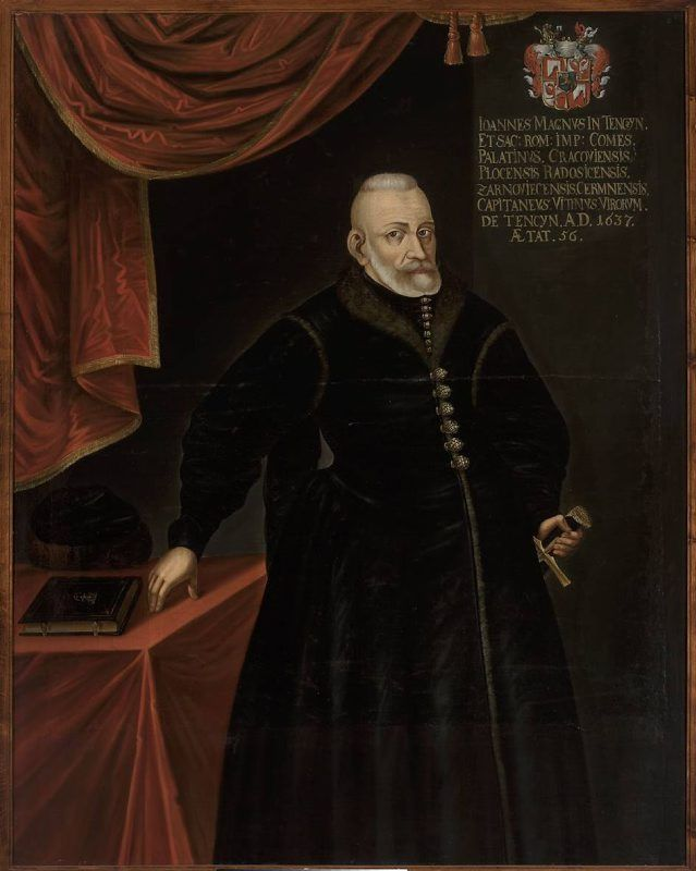 Portret Jana Tęczyńskiego (ca 1581-1637), wojewody krakowskiego
