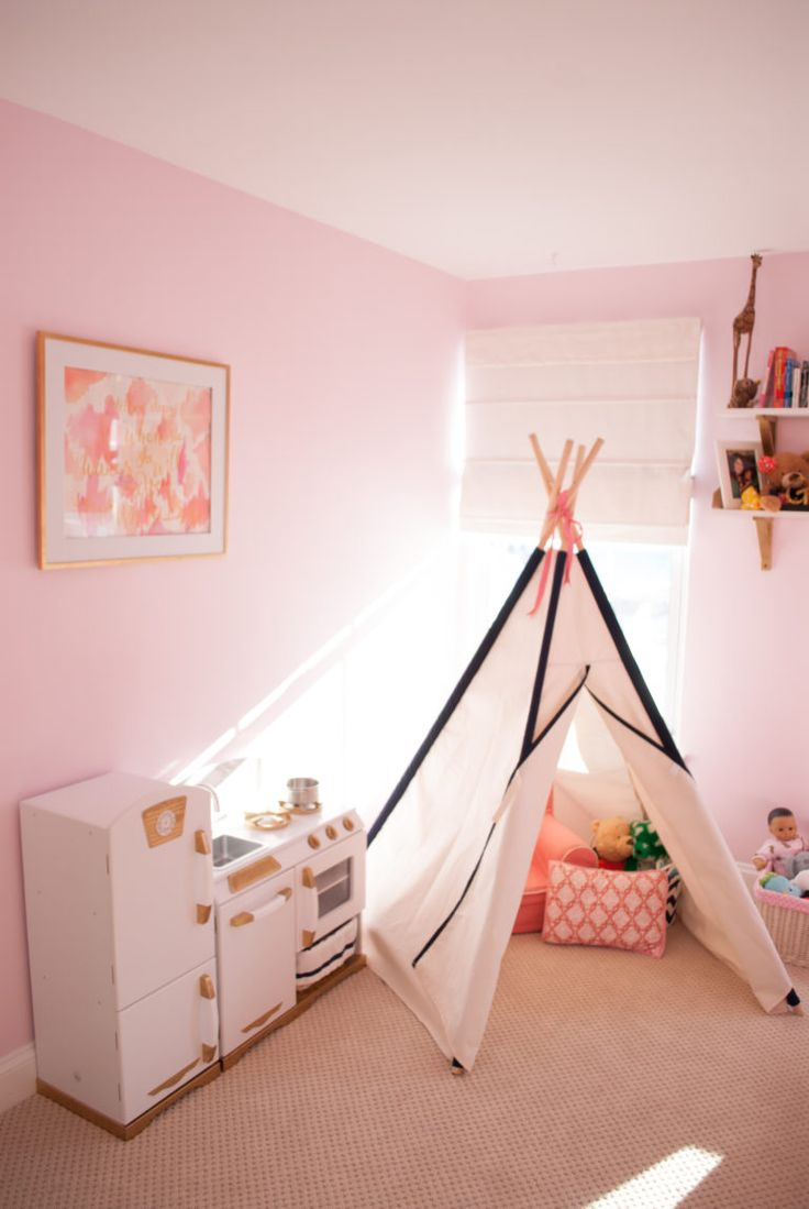 A Whole New Pink and Coral Bedroom