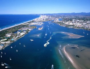 Gold Coast Broadwater http://www.paradisejetboating.com.au
