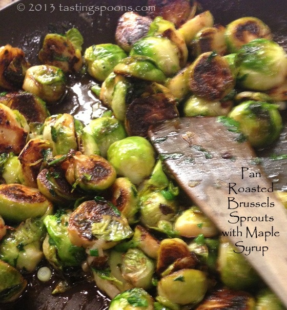 brussels_sprouts_maple_syrup | Vegetables....in the oven | Pinterest
