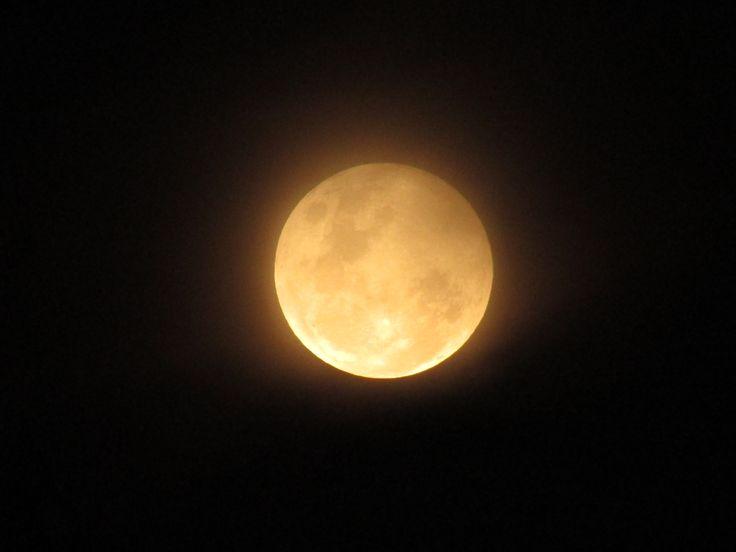 Luna del 18 de octubre del 2013 en Osorno, Chile a las 21.10