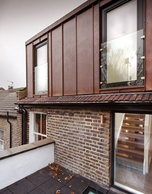 fetching home extension ideas. Loft extension  Go copper clad Come home to 20 best fa ade toit images on Pinterest Dormer windows