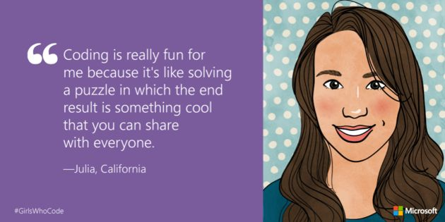 14 Girls Explain Why Women Should Learn How To Code #STEM #kidscancode