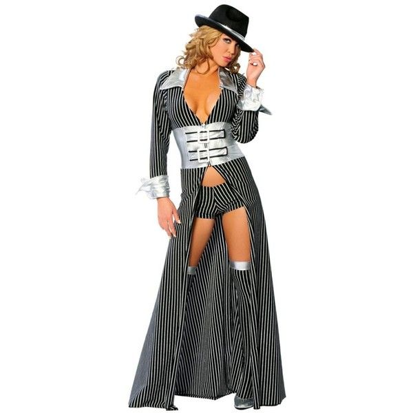 Sexy Mafia Mama Adult Costume for Women ($79) ❤ liked on Polyvore featuring costumes, halloween costumes, multicolor, ladies costumes, sexy women costumes, roma costume, ladies halloween costumes and sexy adult halloween costumes