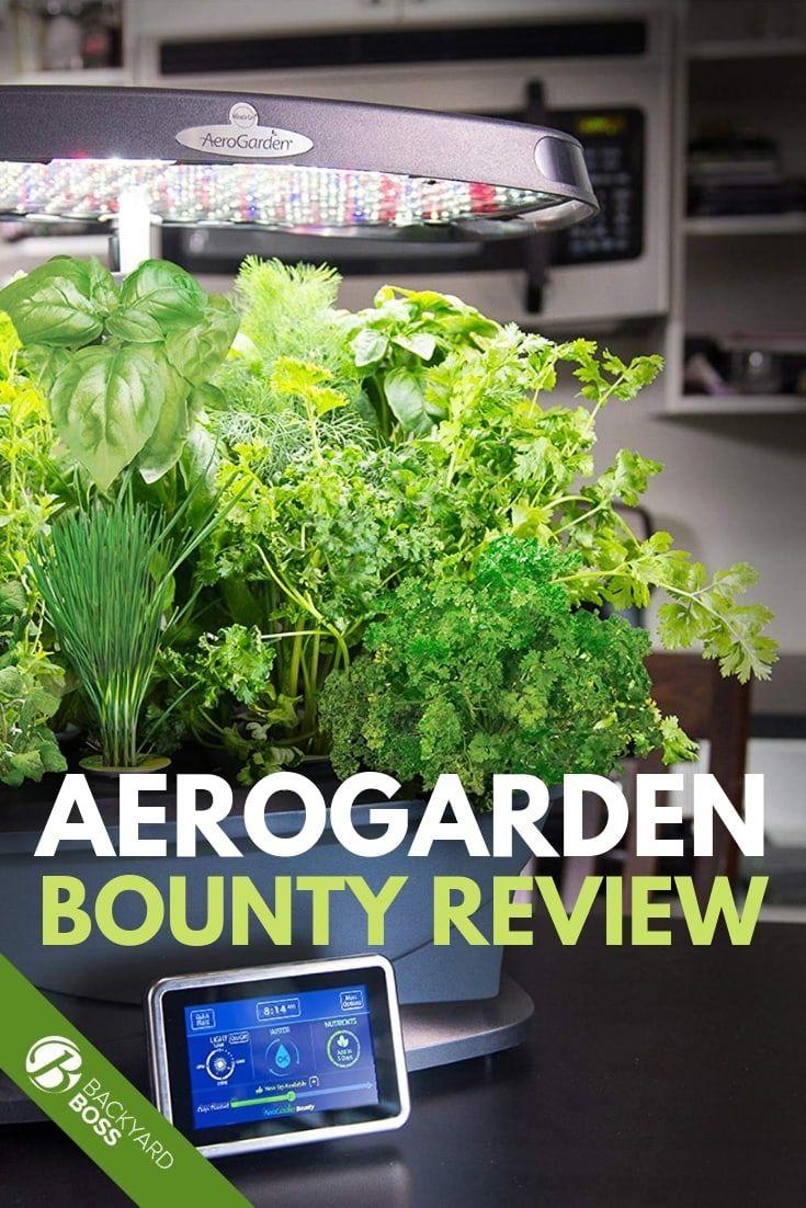 Aerogarden Bounty Review Aerogarden Hydroponic Gardening