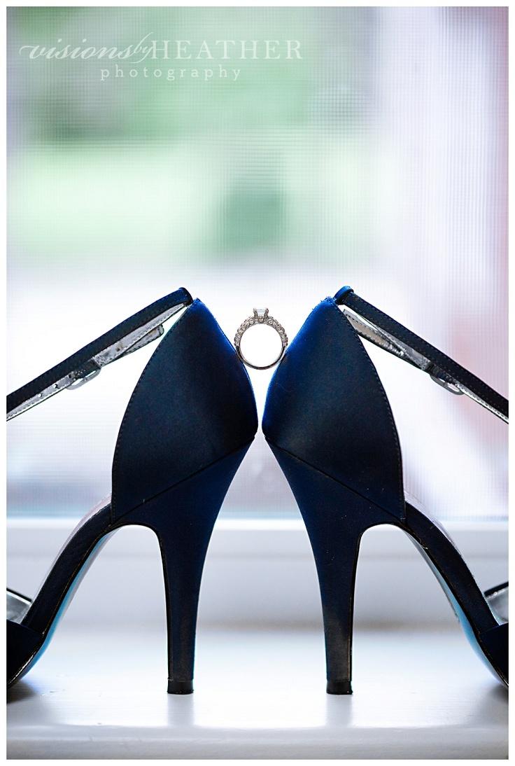 Inspiración para bodas azul marino