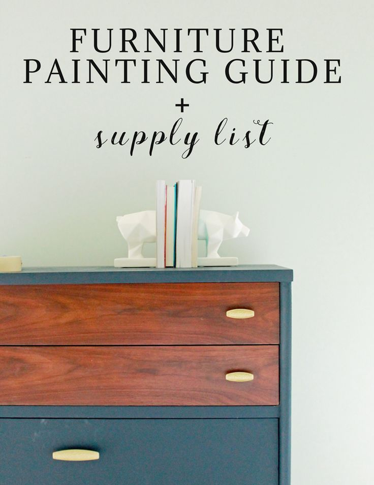 Furniture Painting Guide | My Breezy Room #howto #howtopaintfurniture #paintedfurniture #furniturepainting #paintingguide #paint