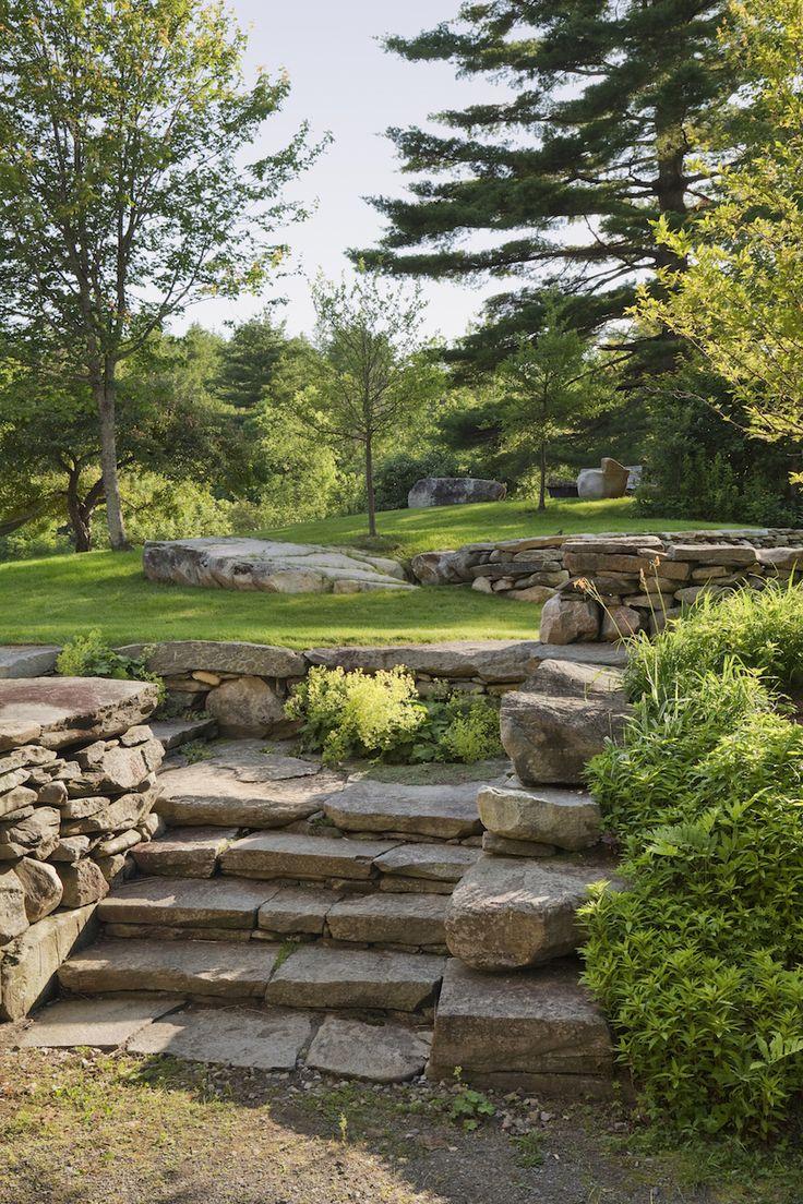 Architects' Roundup: 10 Garden Stairways: Gardenista More