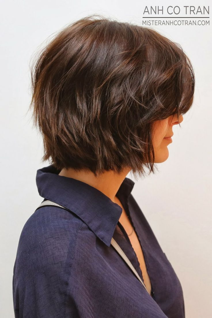 short layered bob hair styles 1000 ideas about layered wavy bob on bobs for 8513 | 4ae5e236364528e3d58f69b1016a4c98
