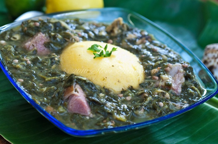Virgin Islands Seafood Kallaloo