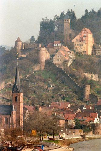Castle along Neckar River Germany | Flickr - Photo Sharing!