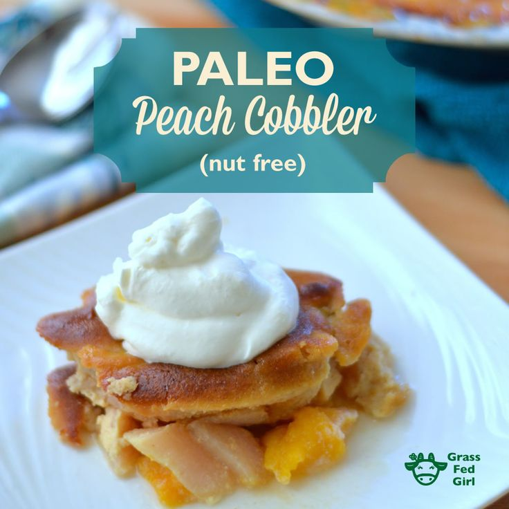 Peach Cobbler. Make low carb by subbing stevia/erythritol/swerve/xylitol for the maple sugar/coconut sugar (not 1:1 though, play around with the ratio)