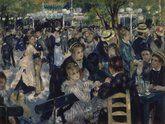 'Bal du moulin de la Galette', Auguste Renoir, Musée d'Orsay à Paris, France