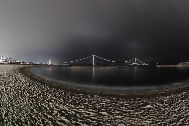 Cloudy Night    I was standing on the beach alone.    SD1 with 10/2.8 FISHEYE ISO100 f5.6 30sec NR: C0.00/L0.00    This is an usual fixed-point observation.