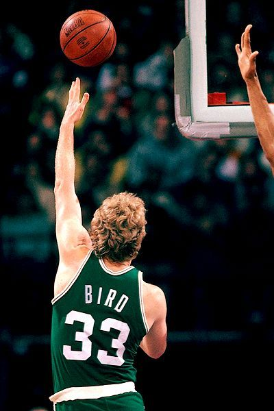 Larry Bird wasn't one of my favorites, but this guy could flat-out ball! Like him or not, he was one of the game's greatest!