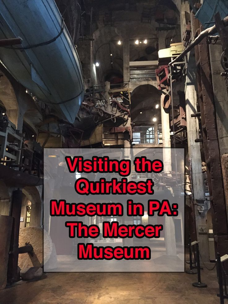 What do a Vampire Killing Kit, a whaling boat, and Harry Potter have to do with each other? Find out at the Mercer Museum in Doylestown, Pennsylvania: http://uncoveringpa.com/visiting-the-mercer-museum
