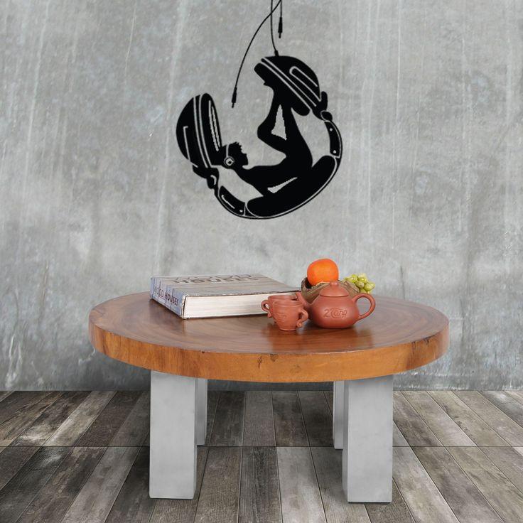 Inilah coffee table yang bagus terbuat dari potongan kayu log besar dari kayu suwar. Bentuk meja yang berbentuk alami pohon, dan serat kayu yang terpampang jelas, menunjukkan karakter sebenarnya dari kayu dan pertumbuhannya. Kayu itu sendiri diampelas halus dan difinishing dengan pernis sebagai perlindungan, sehingga mudah berdiri sesuai penggunaannya sebagai coffee table. Kaki dibuat dari baja tahan karat dan sangat sesuai dengan meja. Tampilan menyikat dari baja stainless ini mengimbangi…
