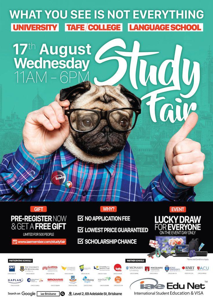 Welcome to iae Study Fair  17th of Aug 2016  iae Brisbane City Office