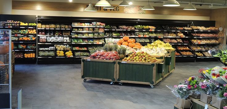 Musgrave grocery retail display solutions - design & manufactured by Kesslers International.