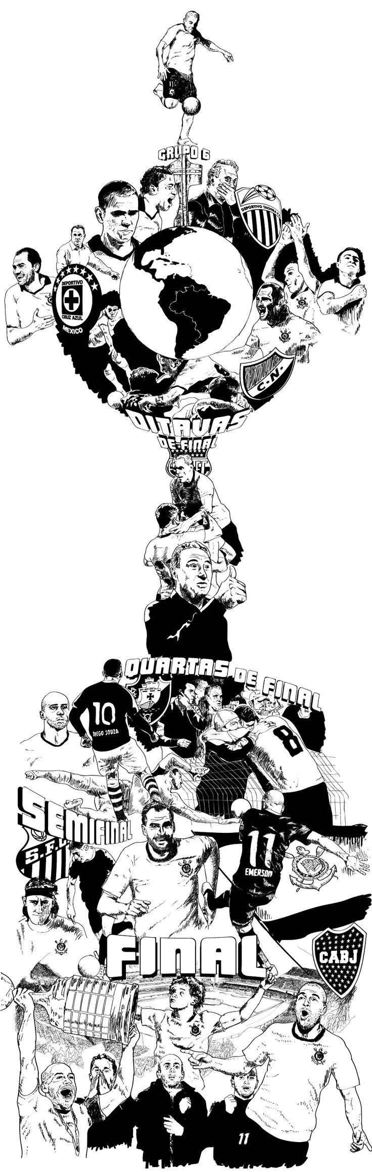Especial em HQ do título do Corinthians da Libertadores 2012