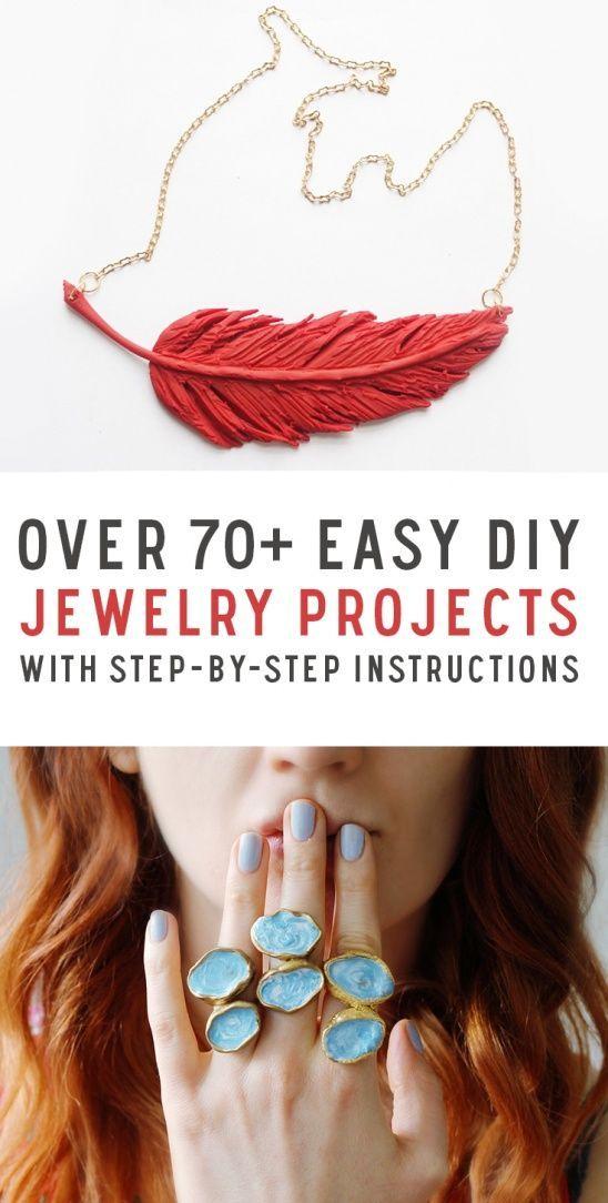 Over 70 DIY Jewelry Tutorials by Kollabora