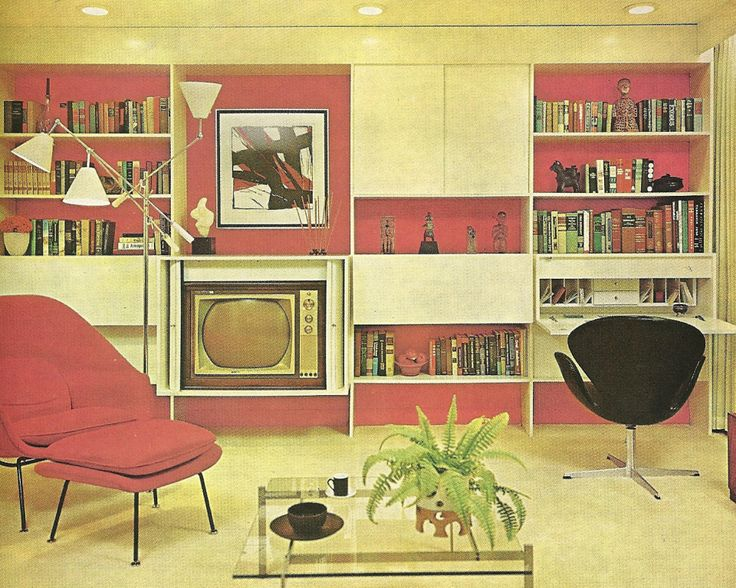 Home Interiors 1960s Vintage Home Decorating 1960s