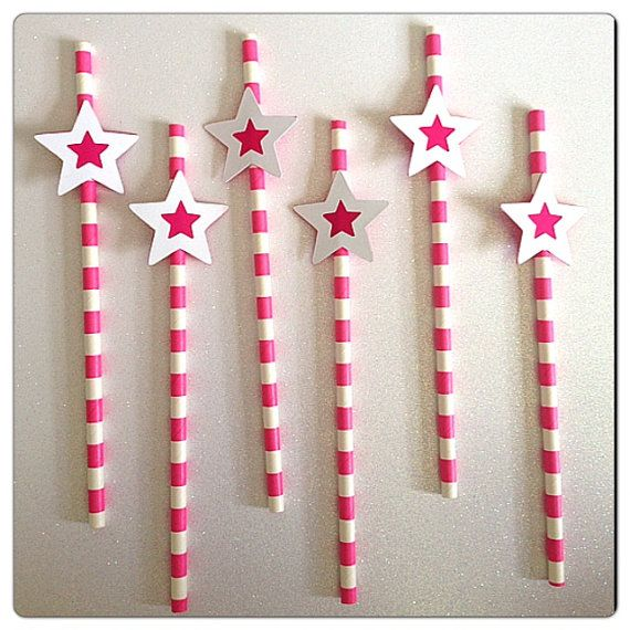 Take a look ay our American Girl straw paper! Cool designs for your table to look awesome! The paper straws are perfect for parties or any other fun