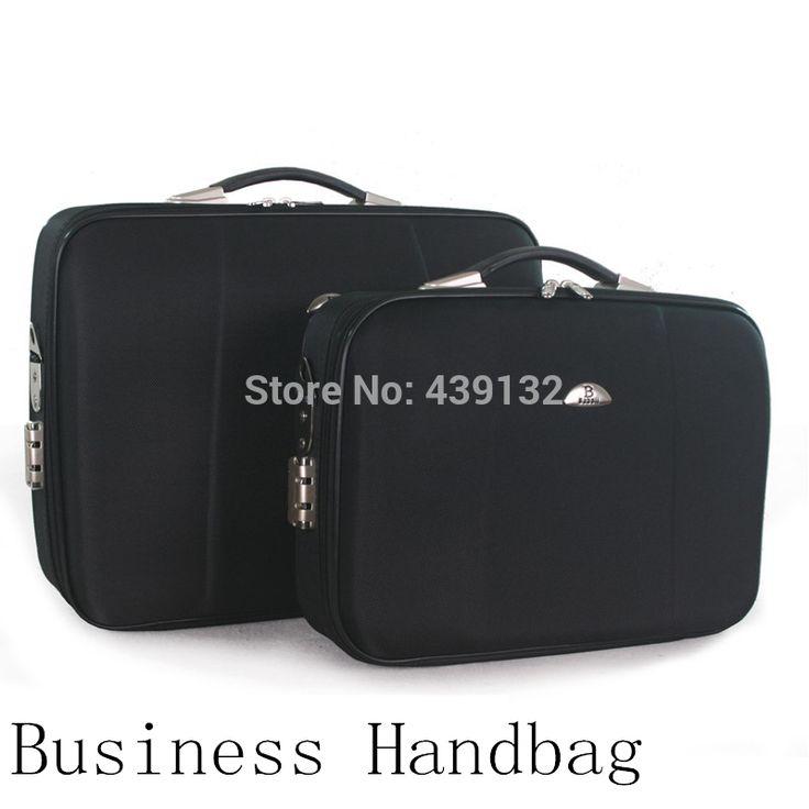 Деловые поездки чемодан, Женщины и мужчины деловые сумки, Портфель, Прочный черный, 14 дюймов 40 * 30 * 14 см, Кроссбоди, 1 шт.