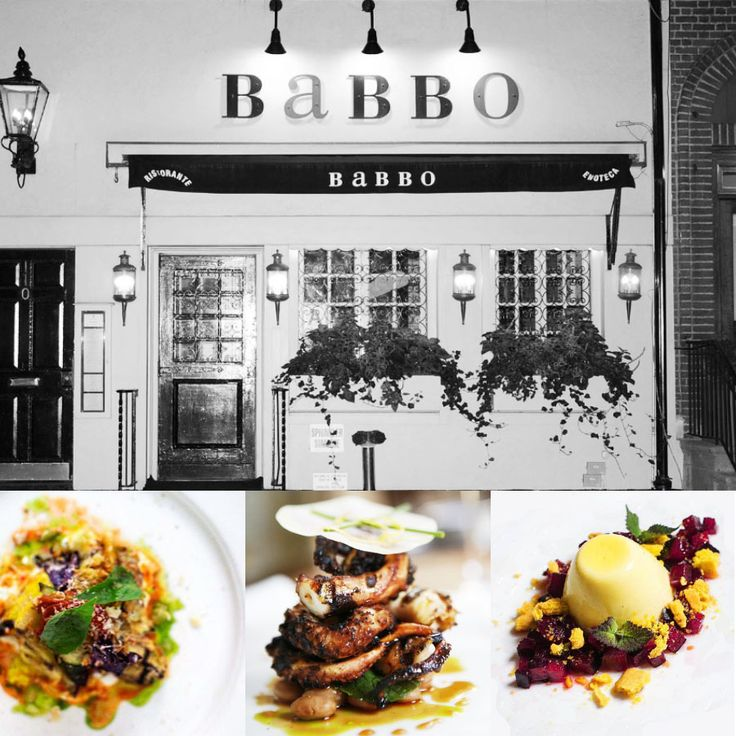 1 star - Restaurant Babbo - New York #italianfood #italianchef #italianrestaurant www.100ITA.com