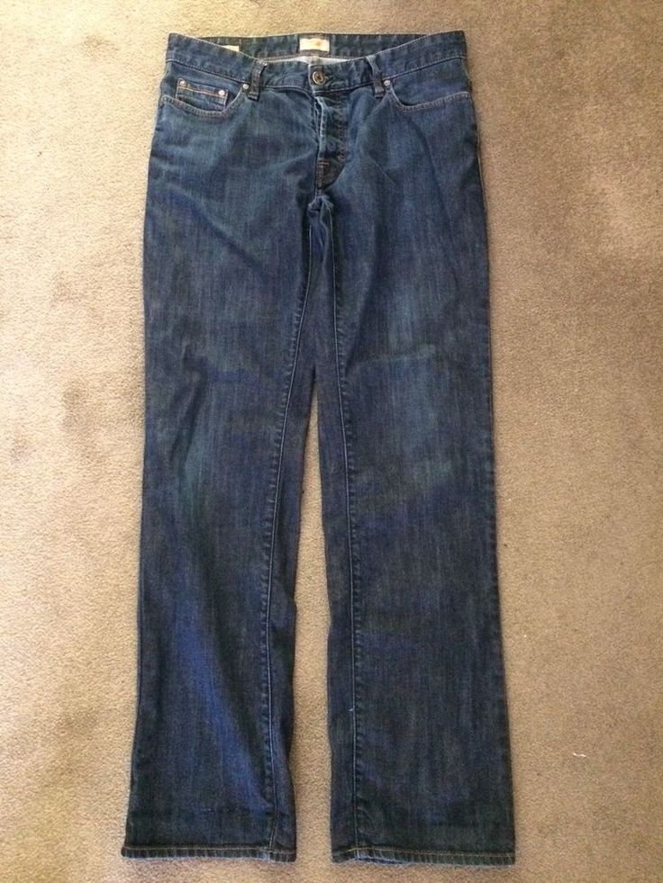 Hugo Boss mens jeans 34 waist Straight Leg Used Excellent Condition