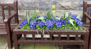 Anyone who has lost a loved one can be inspired to work through the grief by planting a memorial garden.