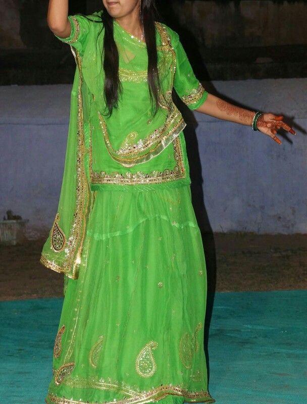 Rajputi Poshak | Rajasthani Bridals and Jewellery | Pinterest