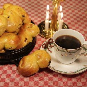 Bästa receptet på saffransbullar - Recept - Mitt Kök