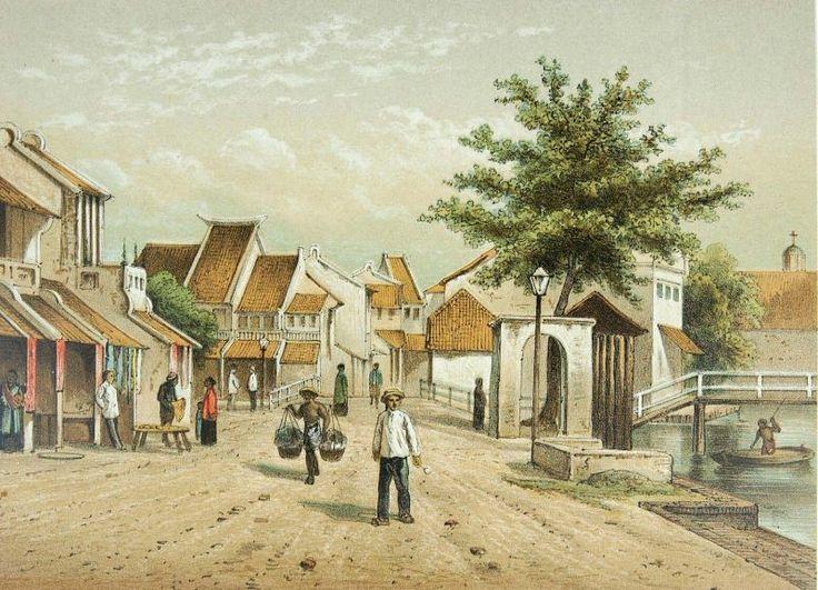 Josias Cornelis Rappard (1824-1898) - Kleine Chinese poort