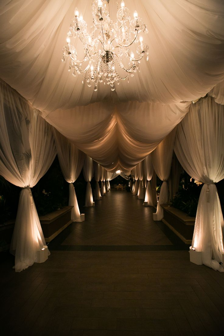 Sunset Ceremony + Neutral-Toned Ballroom Reception in Beverly Hills