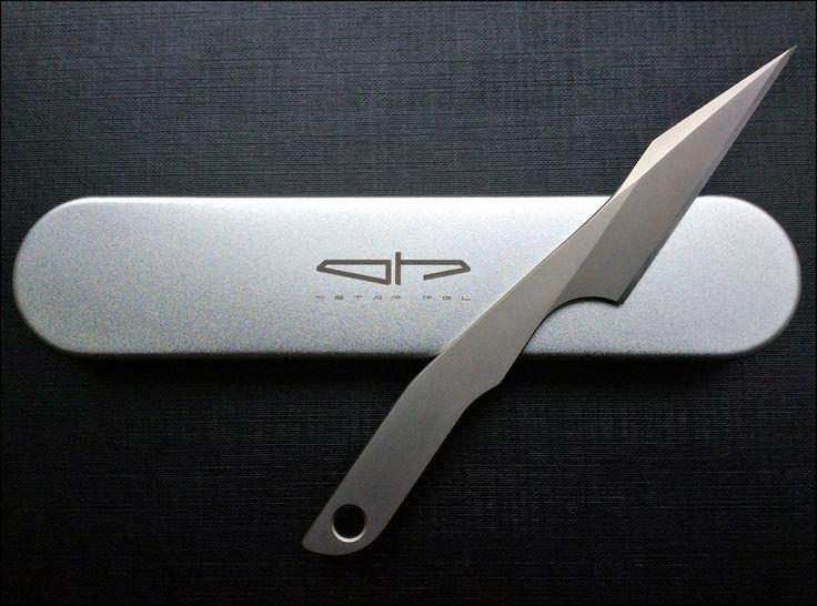 Ostap Hel - Kiridashi N690 Steel Total Length 157mm Blade Length 71mm Thickness 3.5mm HRC 60