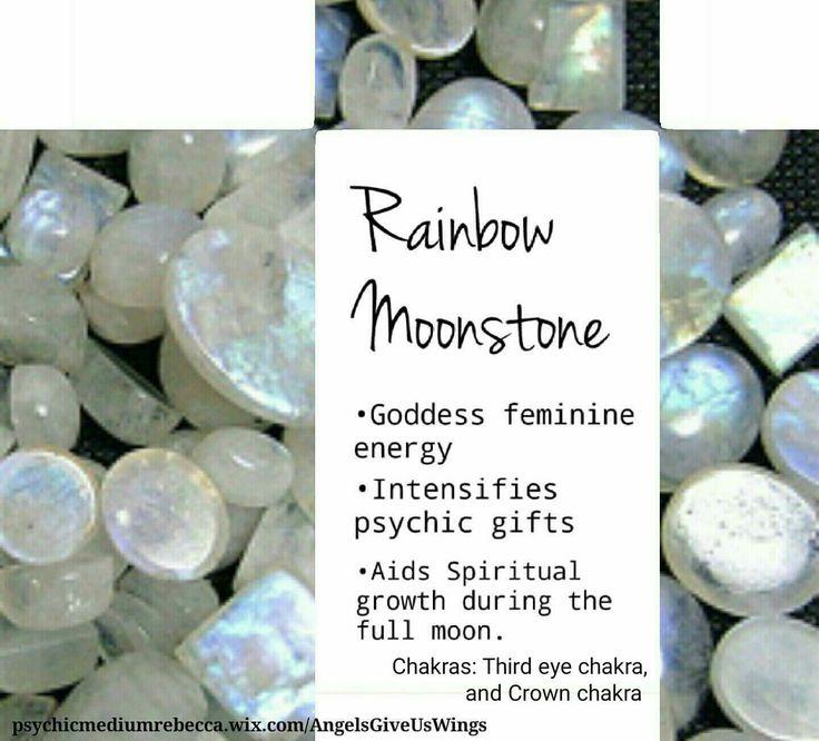 Rainbow Moonstone crystal meaning