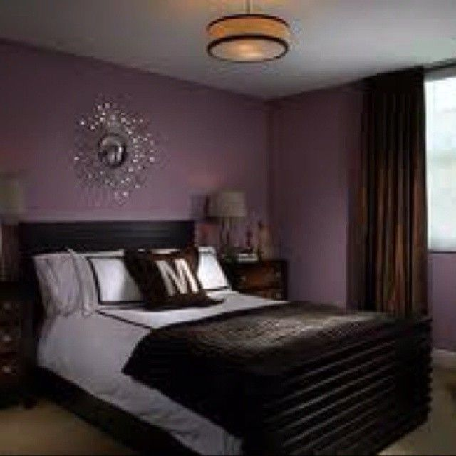 Dark Purple Bedroom Designs Purple Walls Gray And Wall Colors On