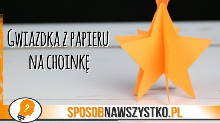 Jak zrobić gwiazdkę z papieru na choinkę? - # #BożeNarodzenie #Bożenarodzenieozdoby #Dekoracjebożonarodzeniowe #Filmy #jakzrobićozdobynachoinkę #Origami #Ozdoby #Ozdobynachoinkę #ozdobynachoinkędiy #Ozdobyzpapieru #Papier #Święta #Zróbtosam