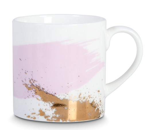 blusg + pink SoHo coffee mug