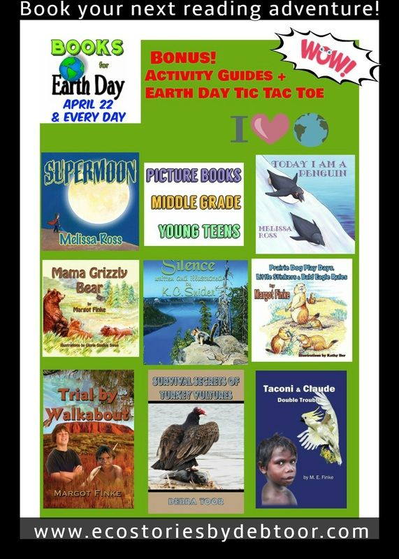 """Earth Day: April 22.  Millions around the world will celebrate by """"thinking globally and acting locally"""" with activities and projects.  Teachers & parents: This Earth Day Books & Activities Guide will help you connect kids to nature.   Enjoy the Earth Day Tic Tac Toe activity on page 5."""