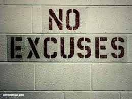 {no excuses - fitness motivation}
