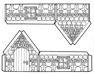 Peperkoekenhuisje van Hansje en Grietje