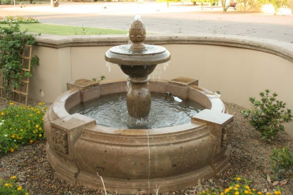 LARGE Spanish pool fountains CAST