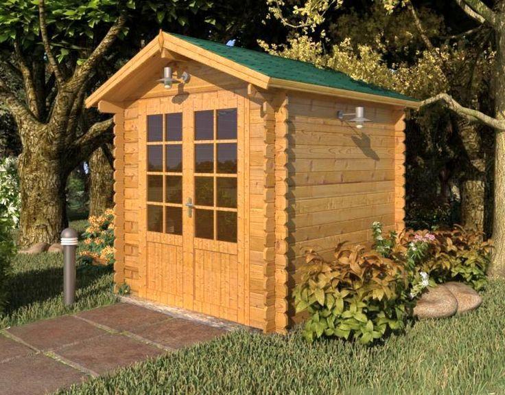 Abrigo de jardim Bedford (28mm)